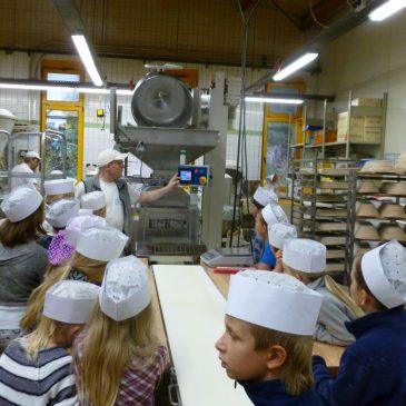 Besuch der Bäckerei Fischer in Neustadt