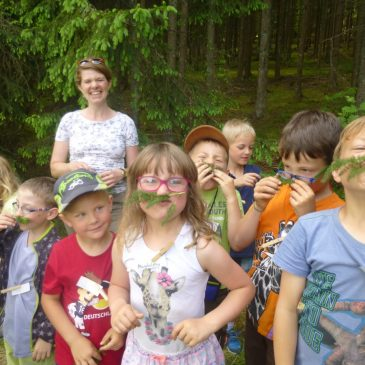 Nahe an der Natur mit der Kräuterpädagogin Marina Winterhalder
