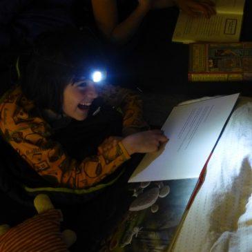 Lesen in der Nacht