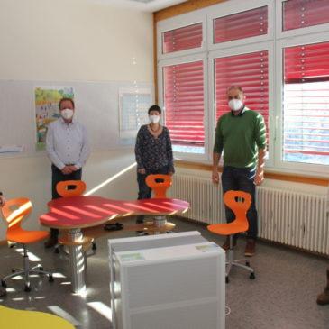 Etwas mehr Sicherheit im Klassenzimmer